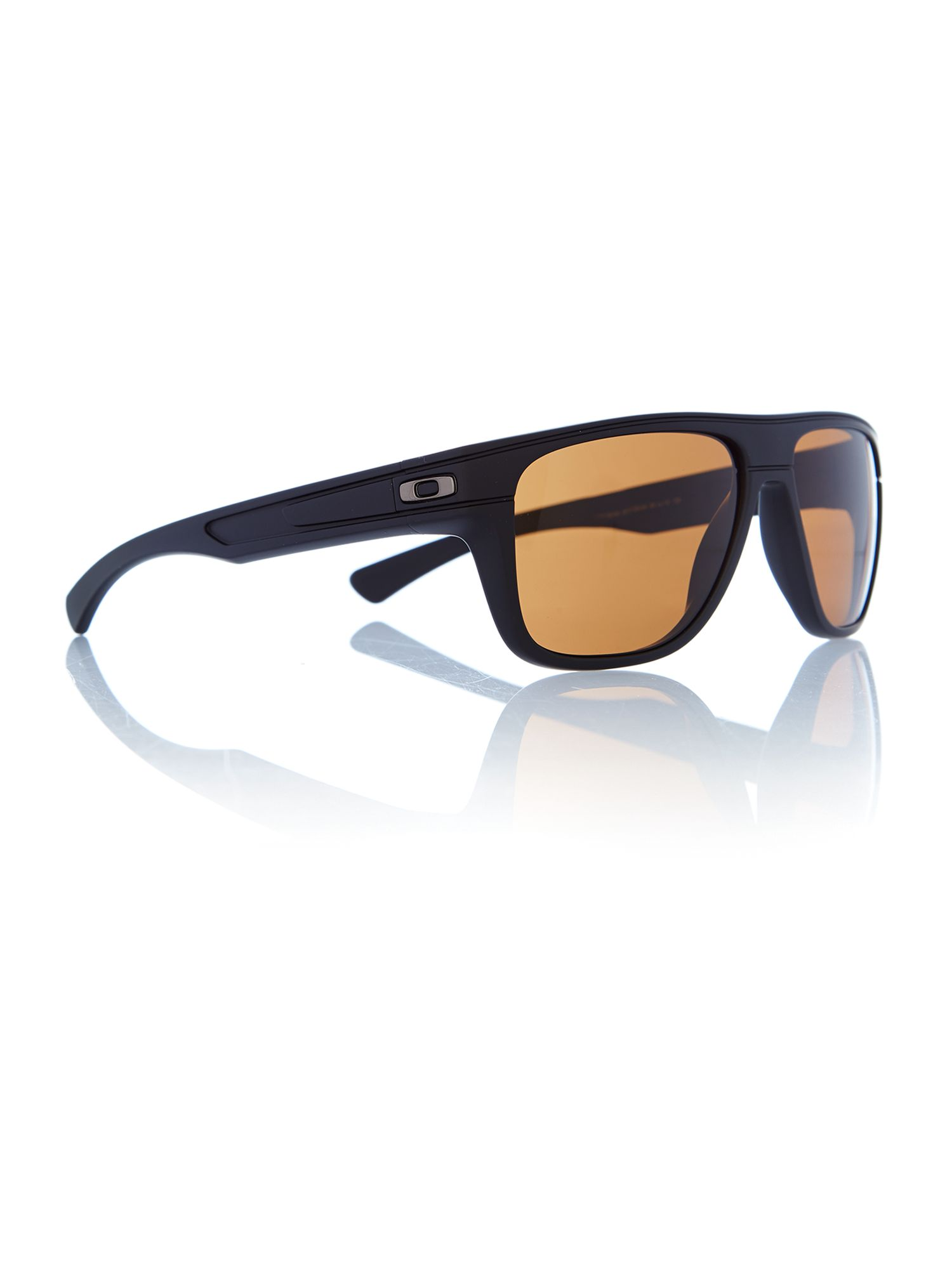 Mens Matte Black Breadbox Sunglasses