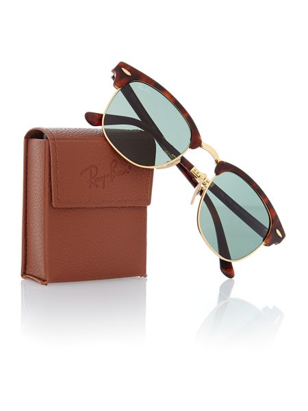 Ray-Ban Clubmaster folding sunglasses