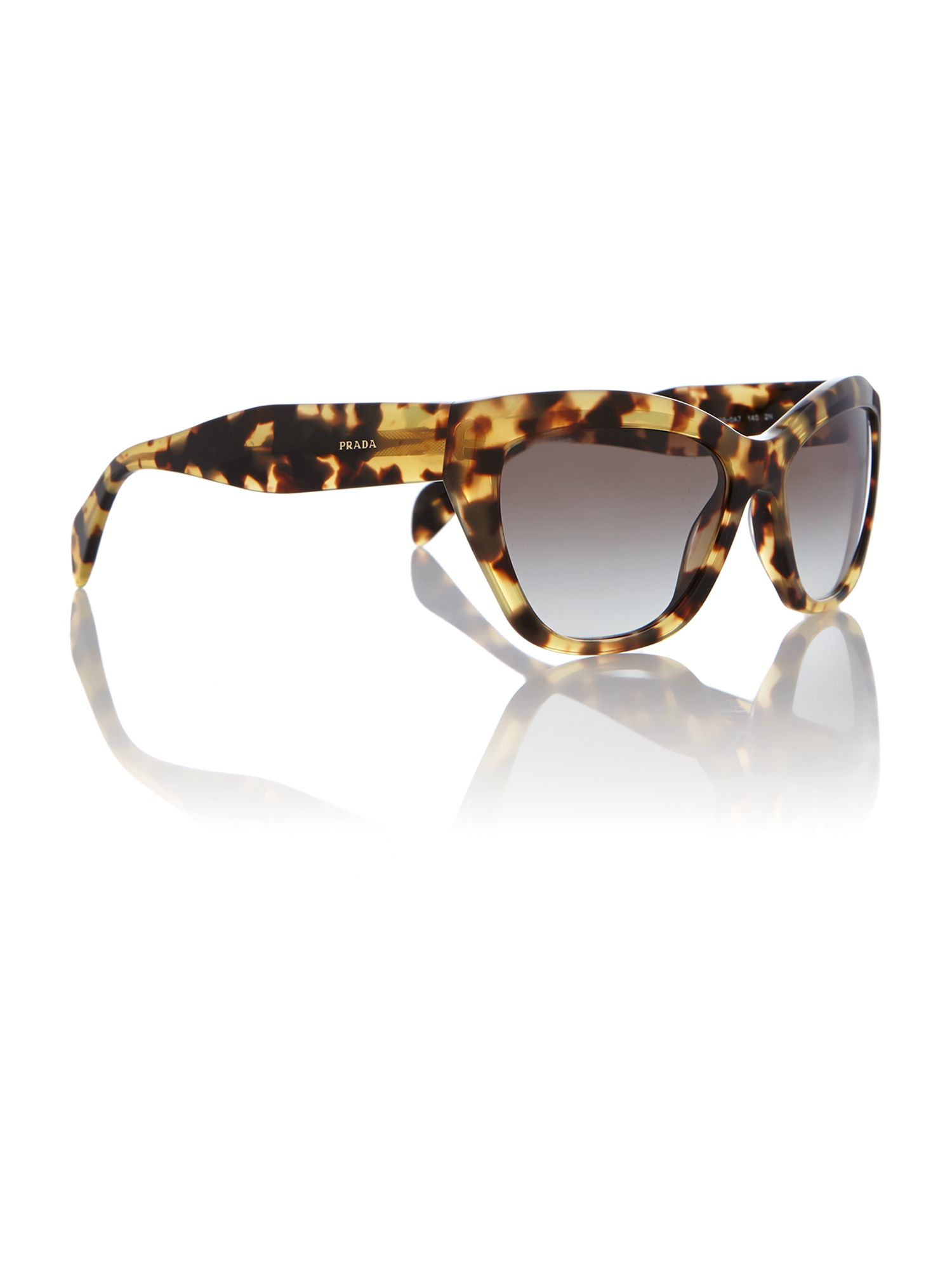 Pr 02qs ladies cat eye sunglasses