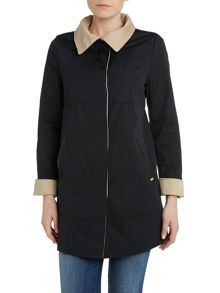 Cotton Two Tone Rain Jacket