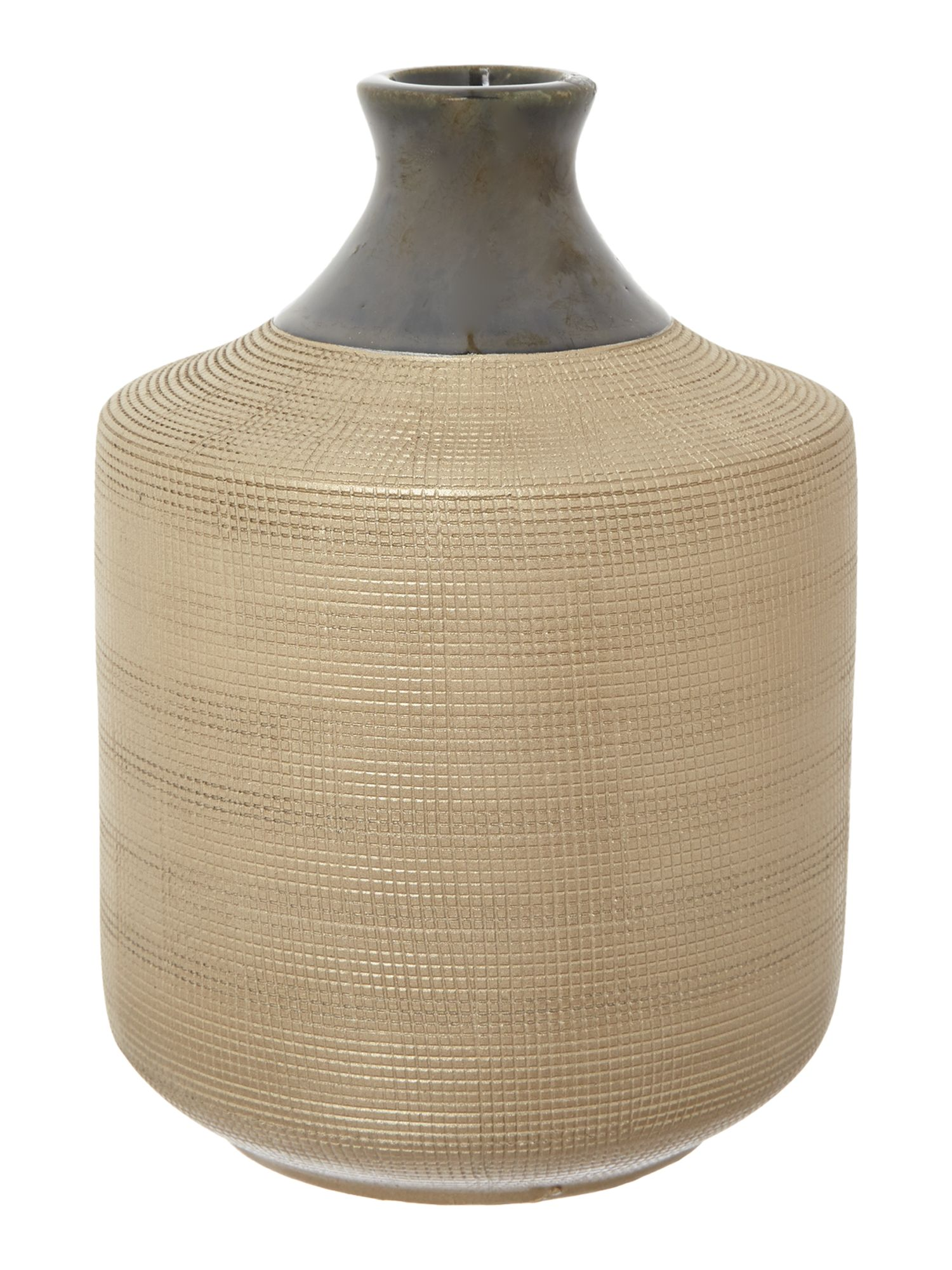 Bronze ceramic vase, small