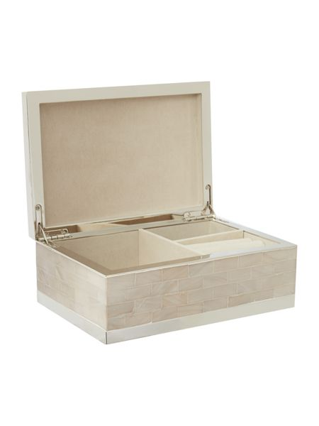 Casa Couture Mother of pearl jewellery box