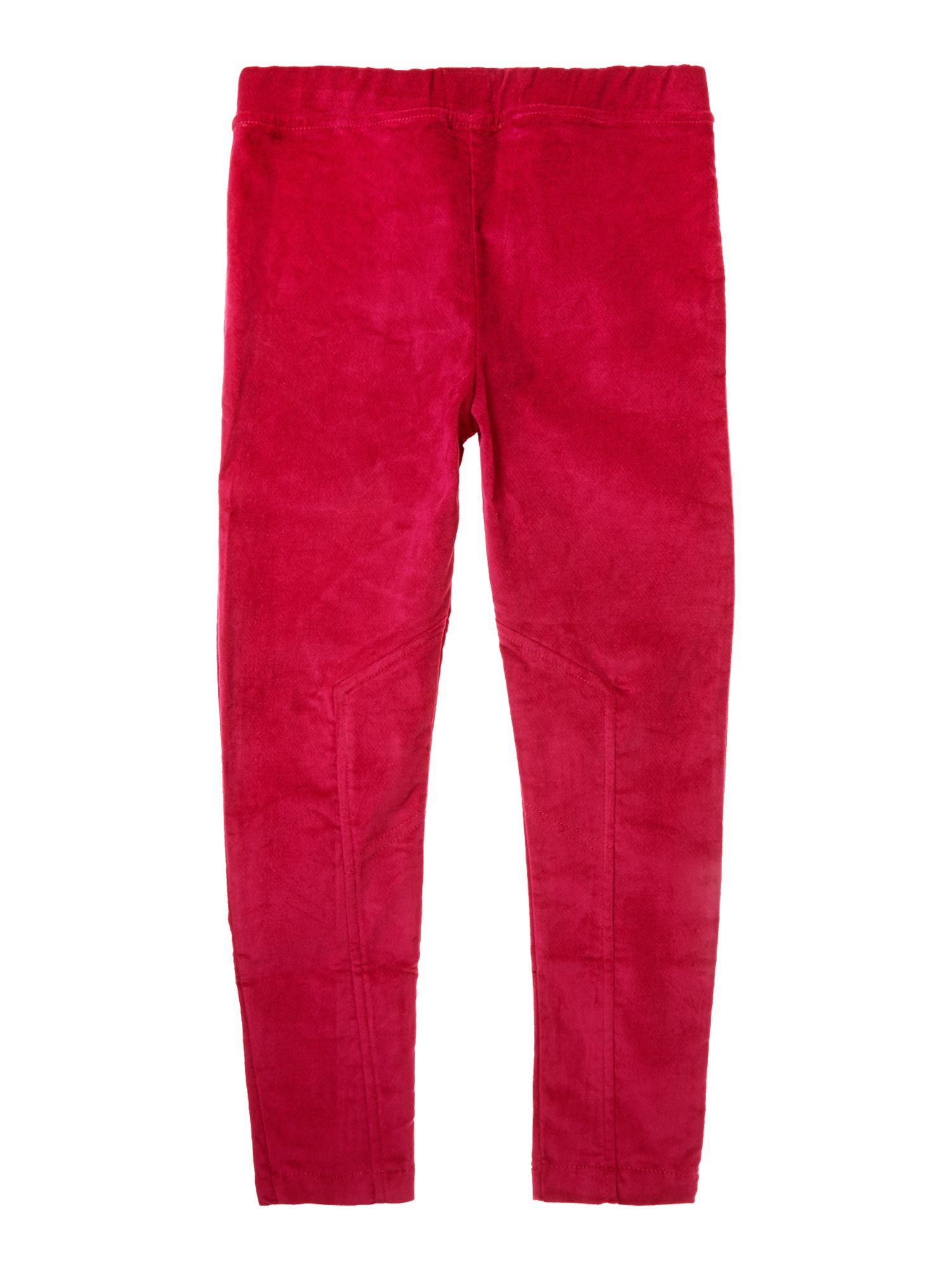 Girl`s velvet jodding trousers
