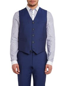 Paul Smith London Byard Wool Mohair Slim Fit Waistcoat