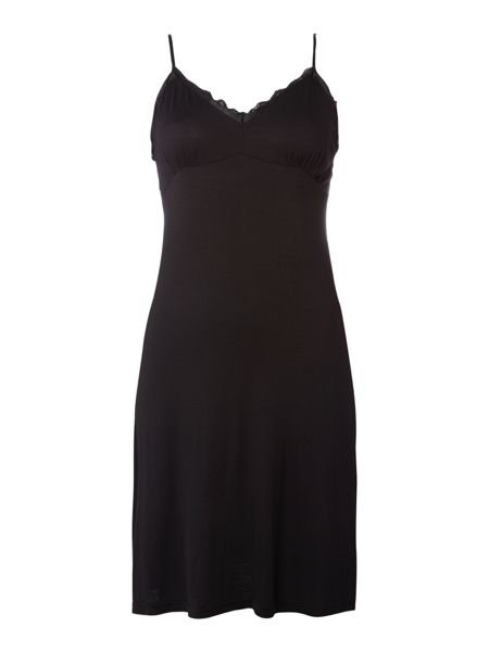 Linea Jersey lace pleated chemise