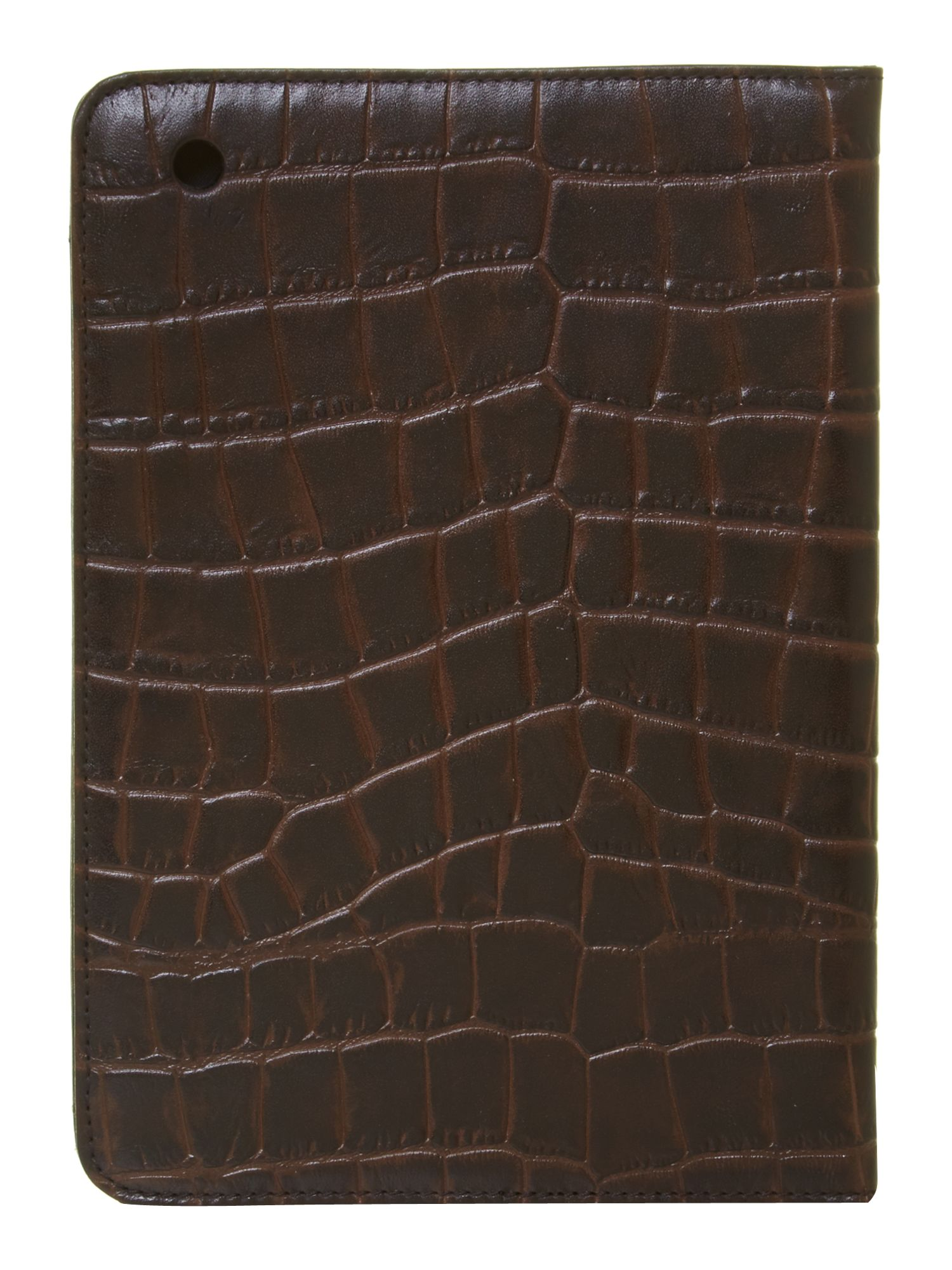 Croc print ipad mini case