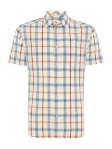 Beachhouse short sleeve check shirt