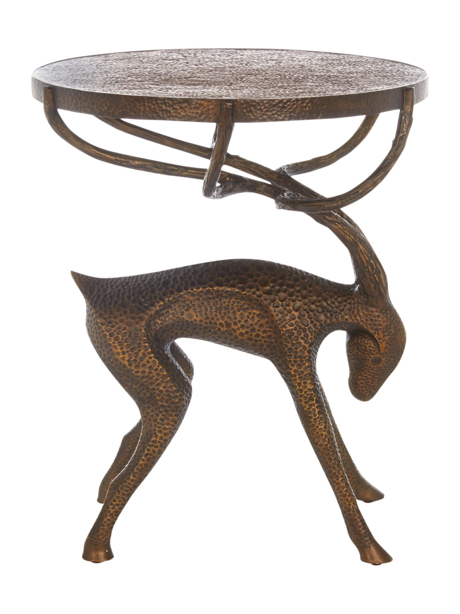 Stag Lamp Table