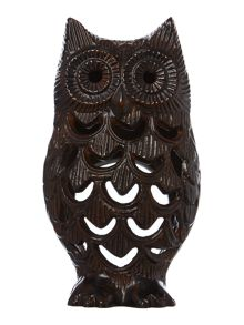 Living by Christiane Lemieux Owl tealight holder