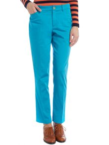 Skinny ankle length trousers