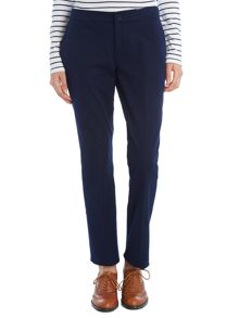 Slim ankle length trousers