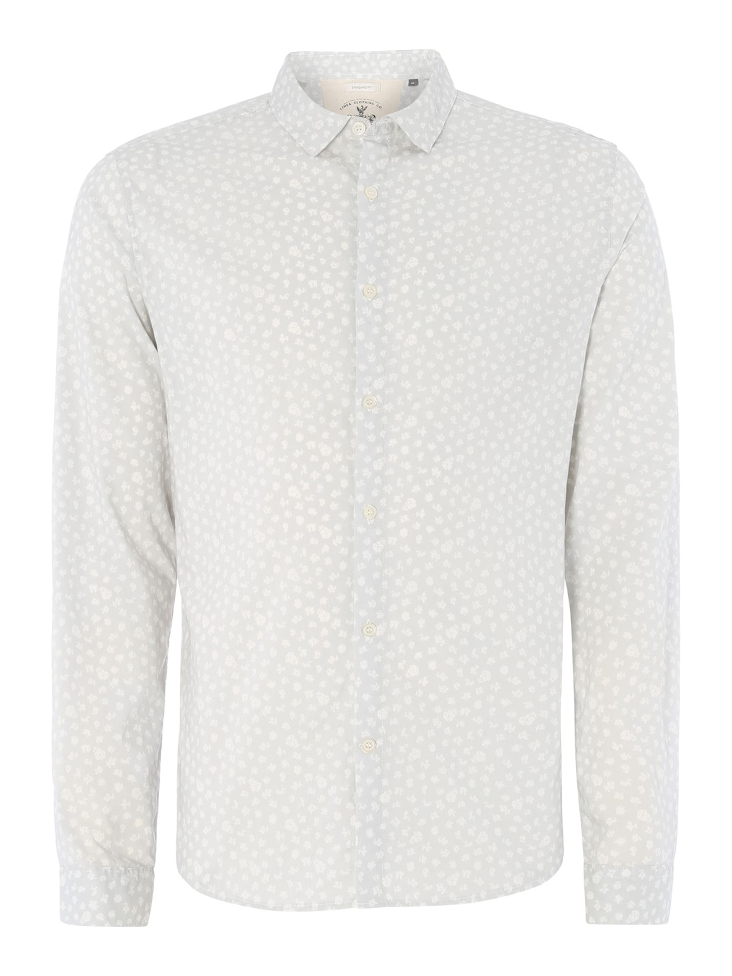 percy ditsy floral long sleeved shirt