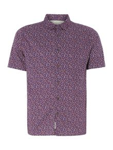 Alfred ditsy floral short sleeved shirt
