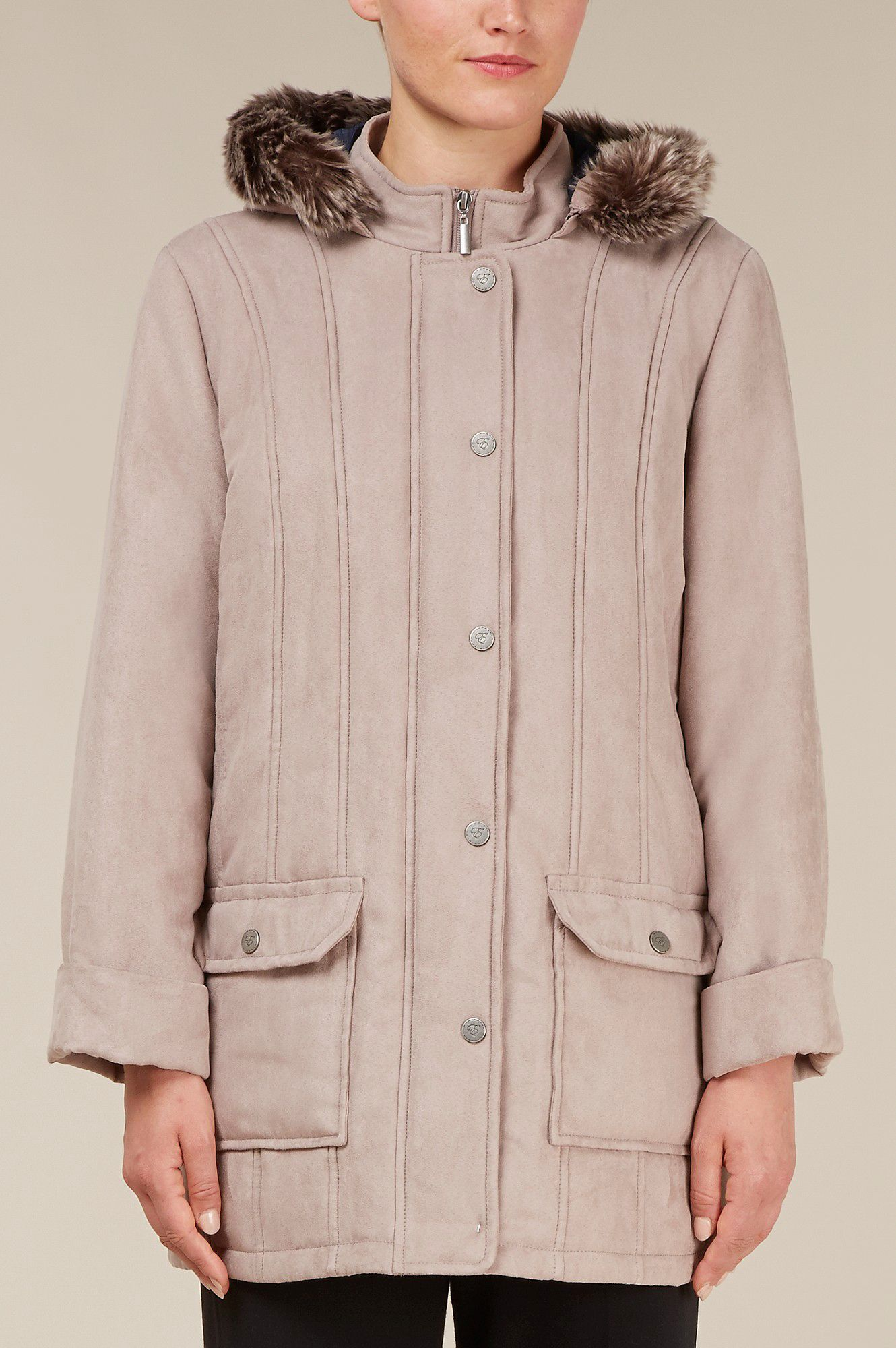 Bisque padded coat