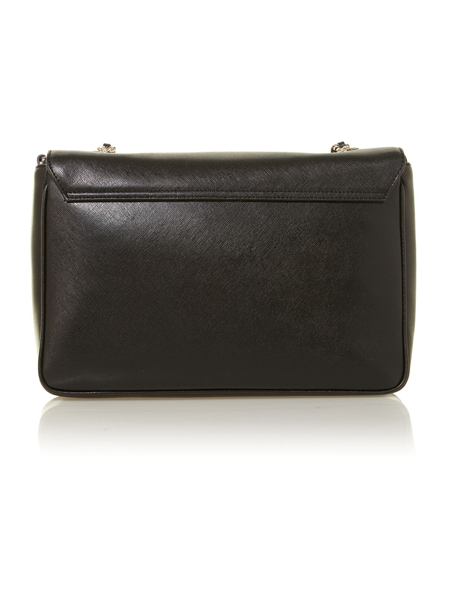 Margo black large shoulder bag