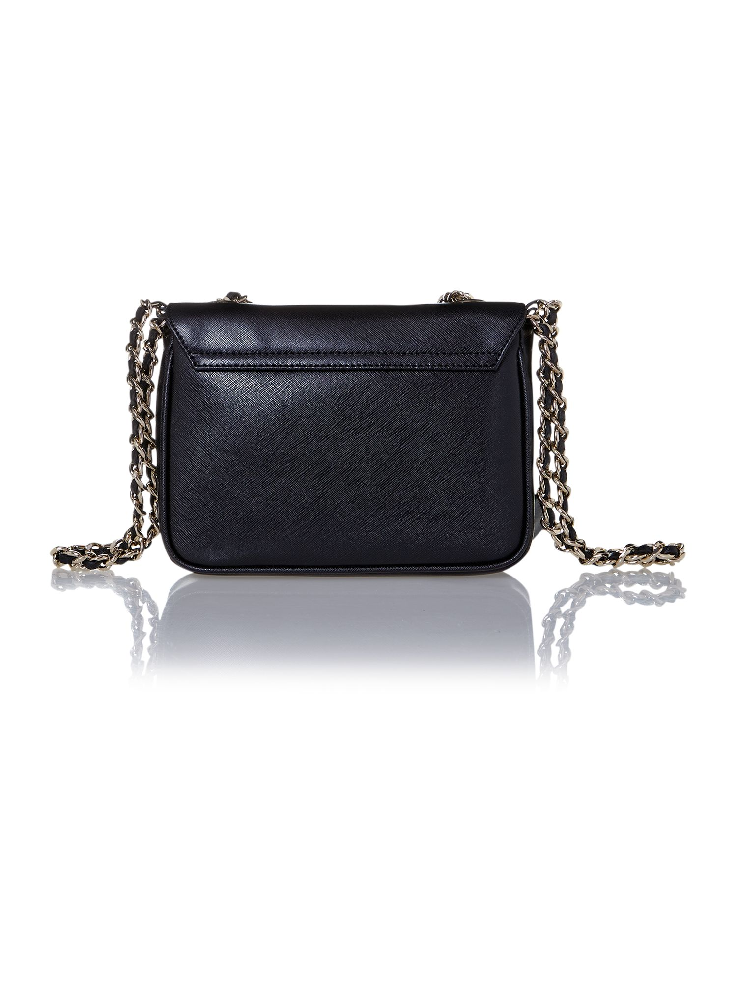 Margo black small shoulder bag
