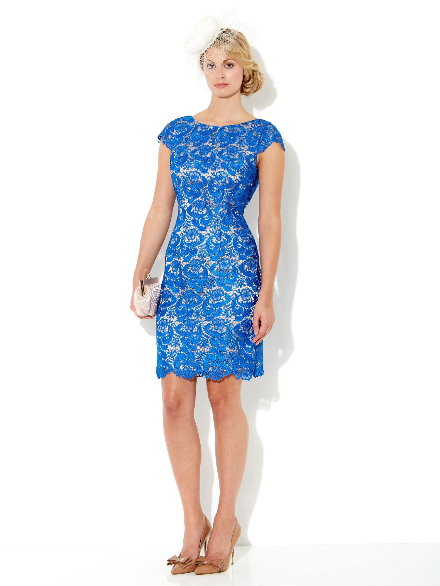 Guipure lace dress
