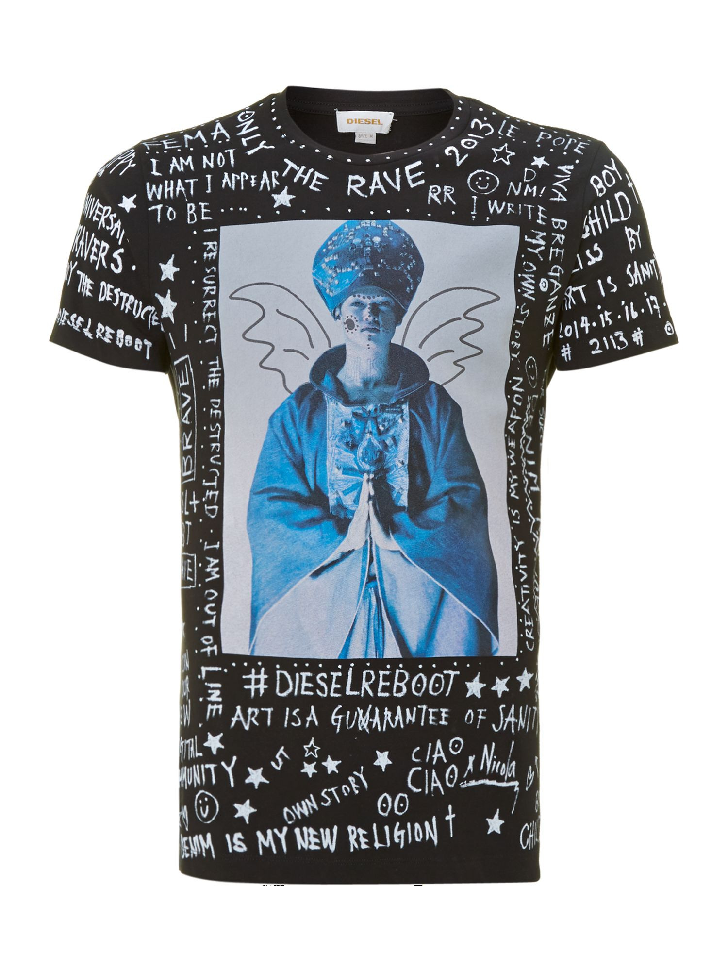 Angel grafitti t shirt