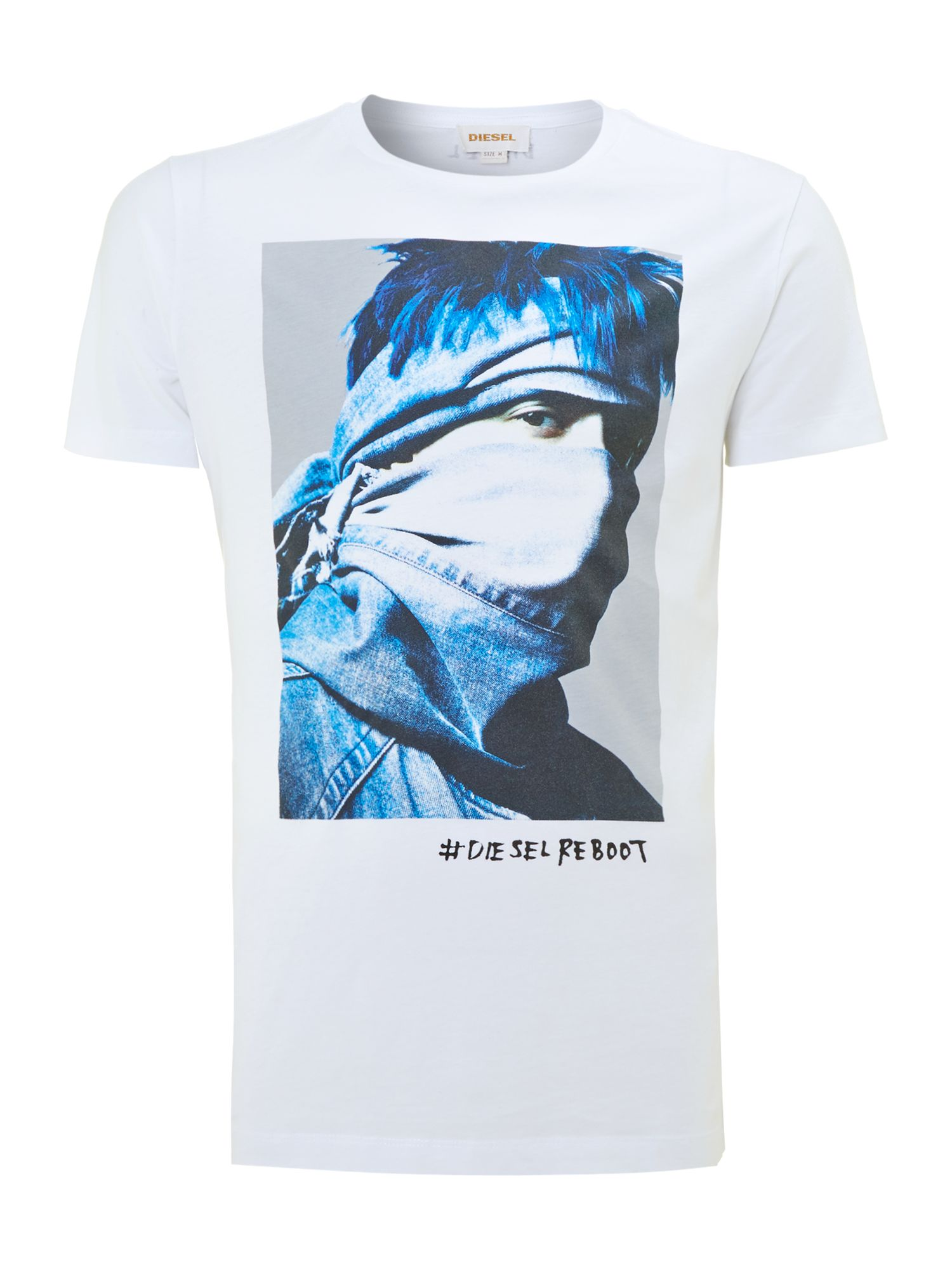 Rebel print t shirt