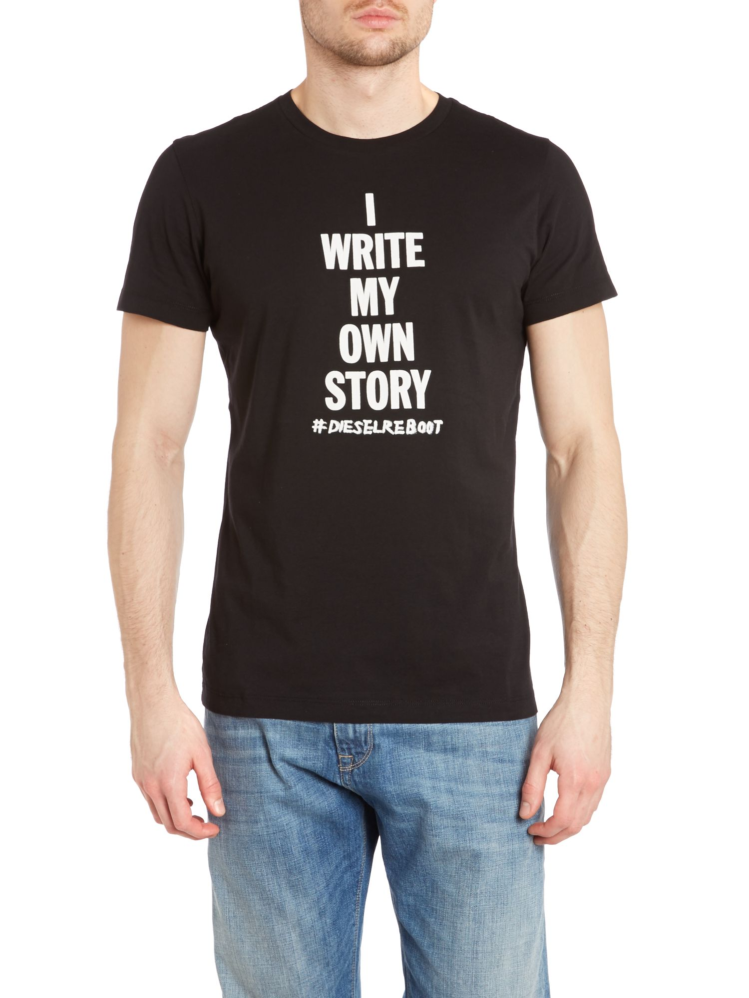 Own story printed t shirt