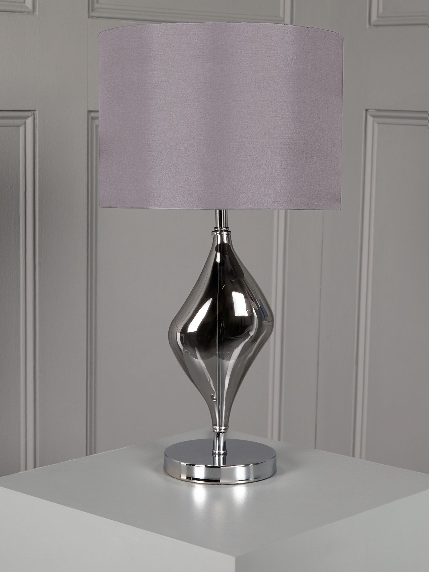 Orla Plated Glass Table Lamp