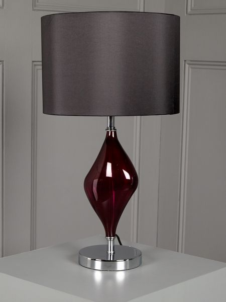 Orla Table Lamp Raspberry