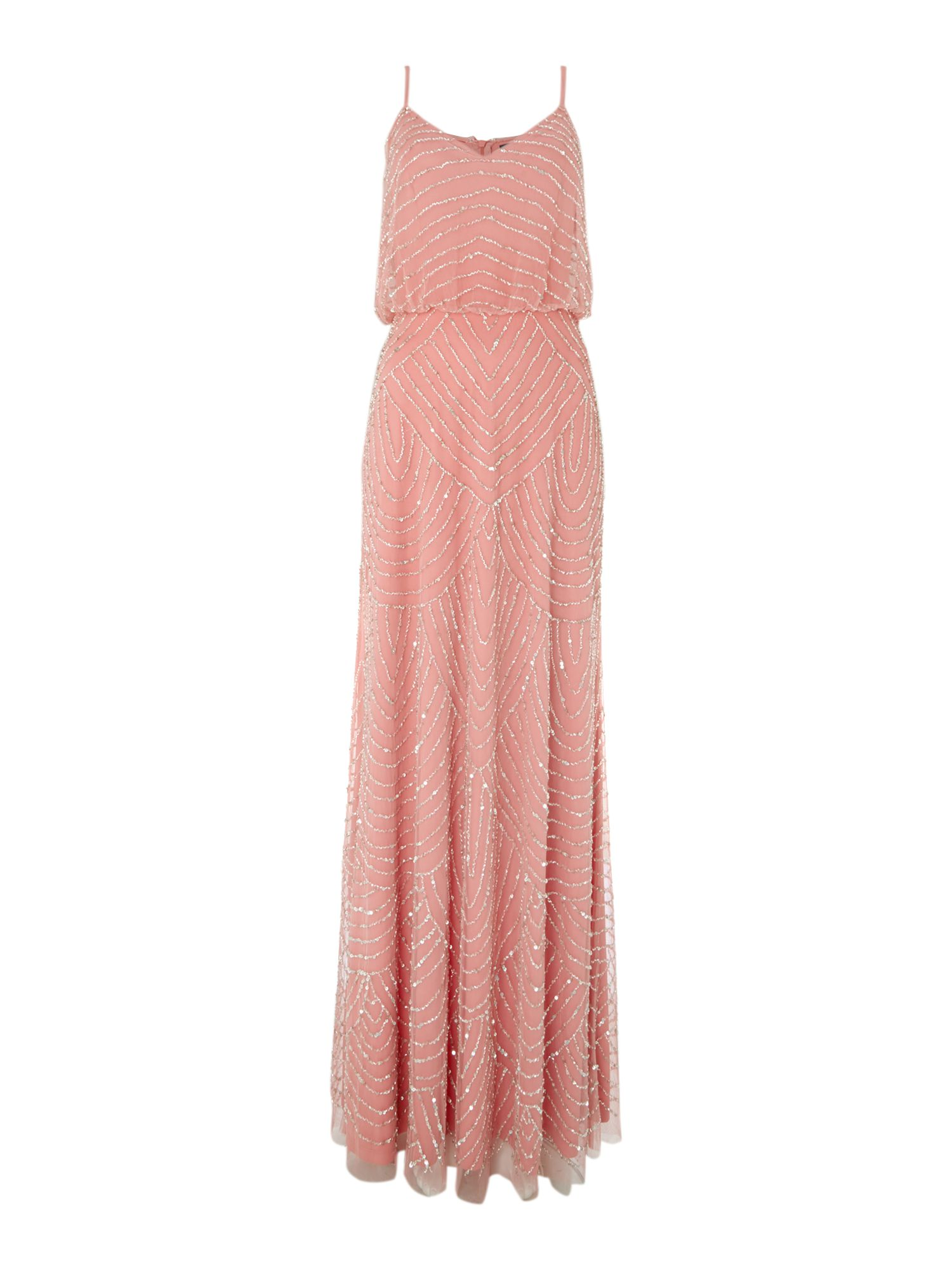 Art deco beaded dress