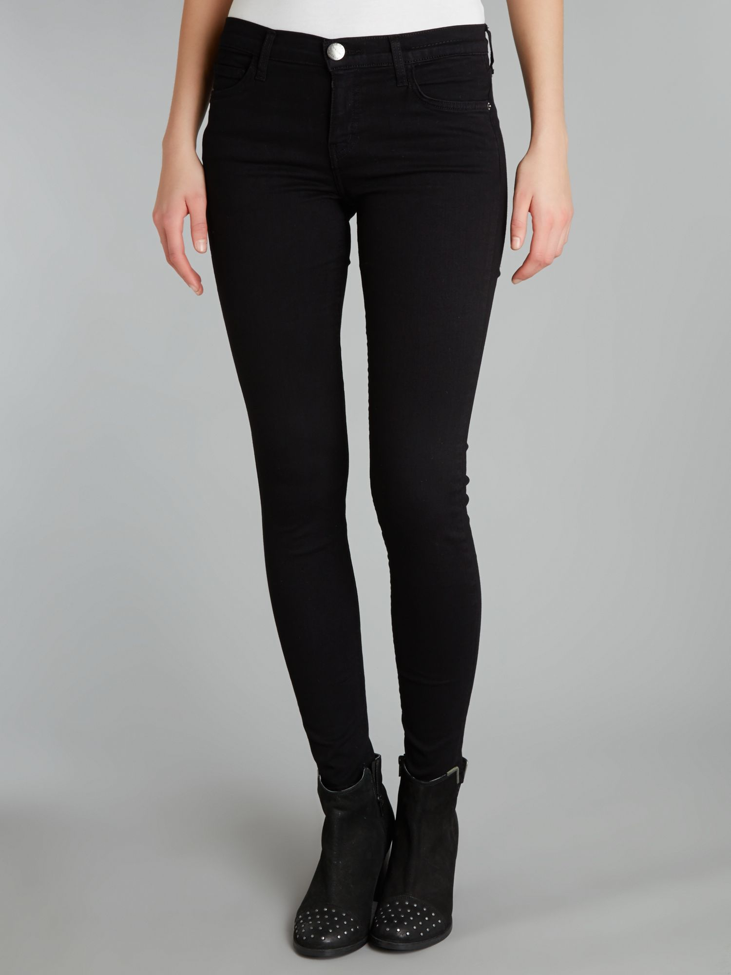 The Ankle Skinny in Jet Black