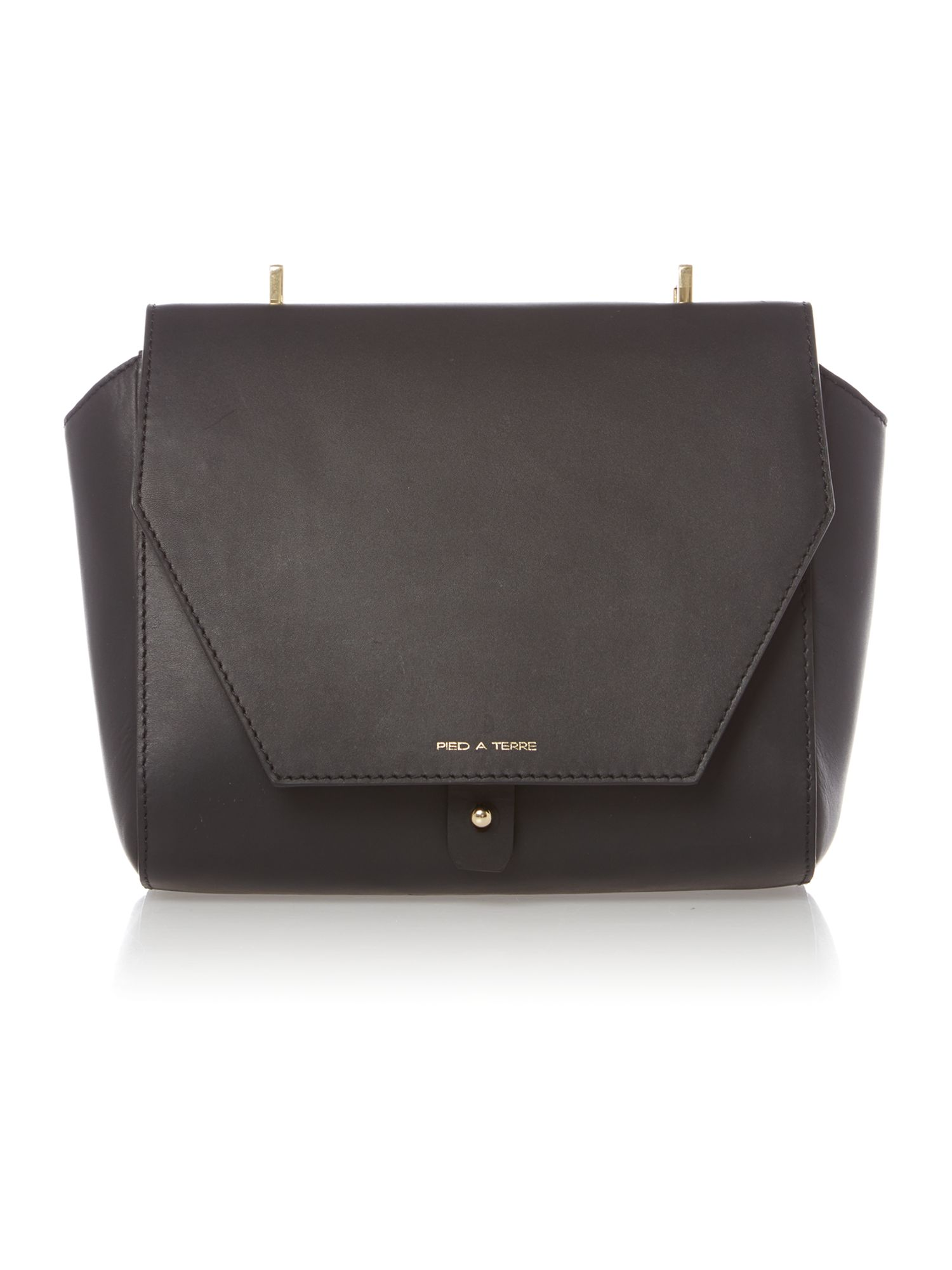 Gemini flap over mini crossbody bag