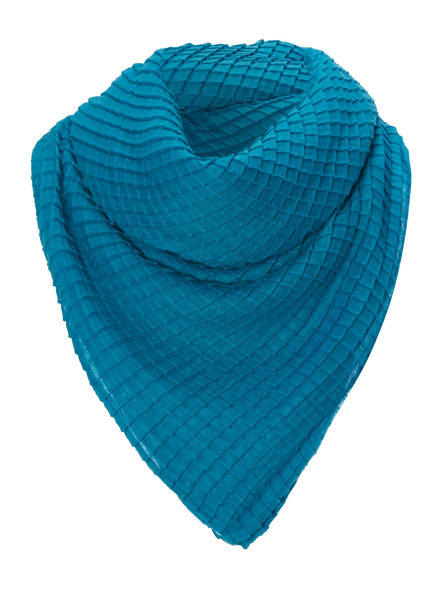 Texture solid scarf