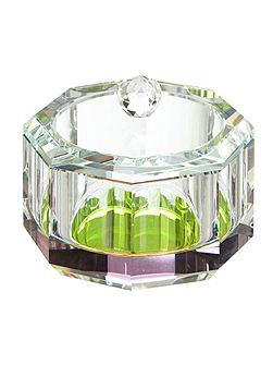Pied a Terre Rainbow prism glass storage jar