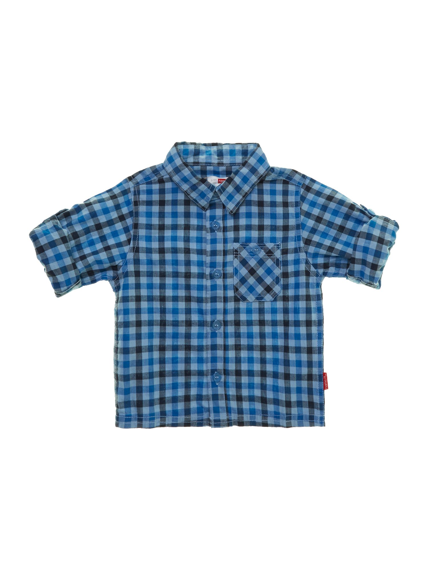 Boy`s western check shirt