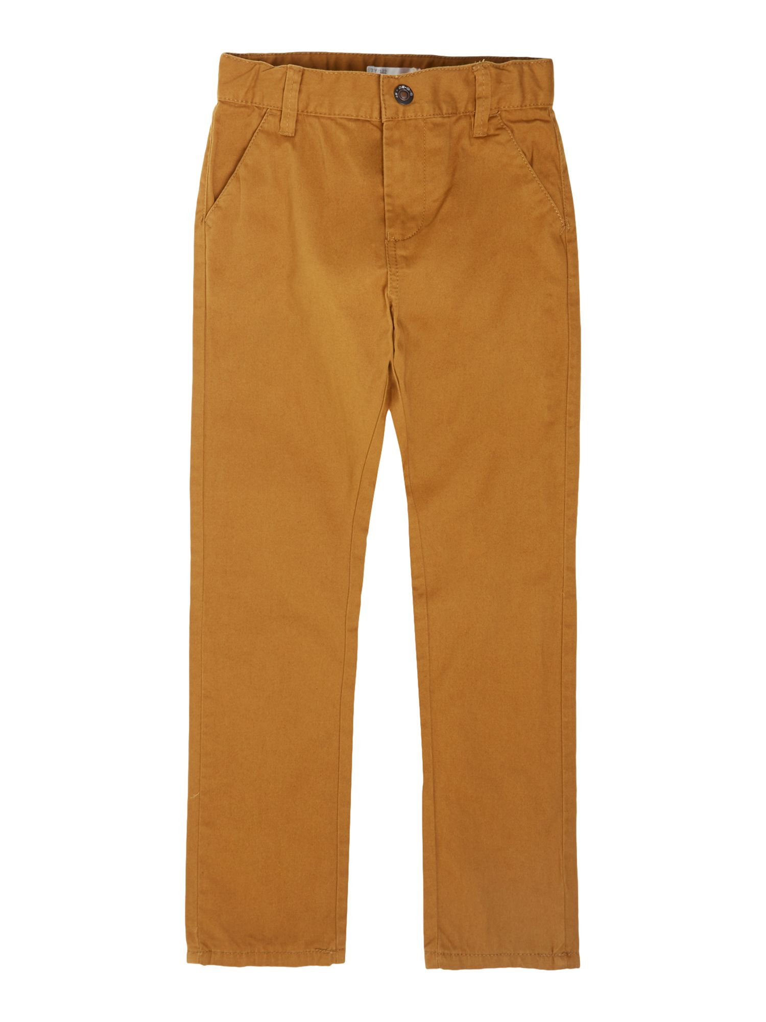 Boy`s anti-fit twill chino