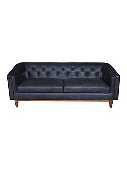 George large leather sofa