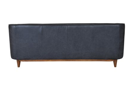 Living by Christiane Lemieux George large leather sofa