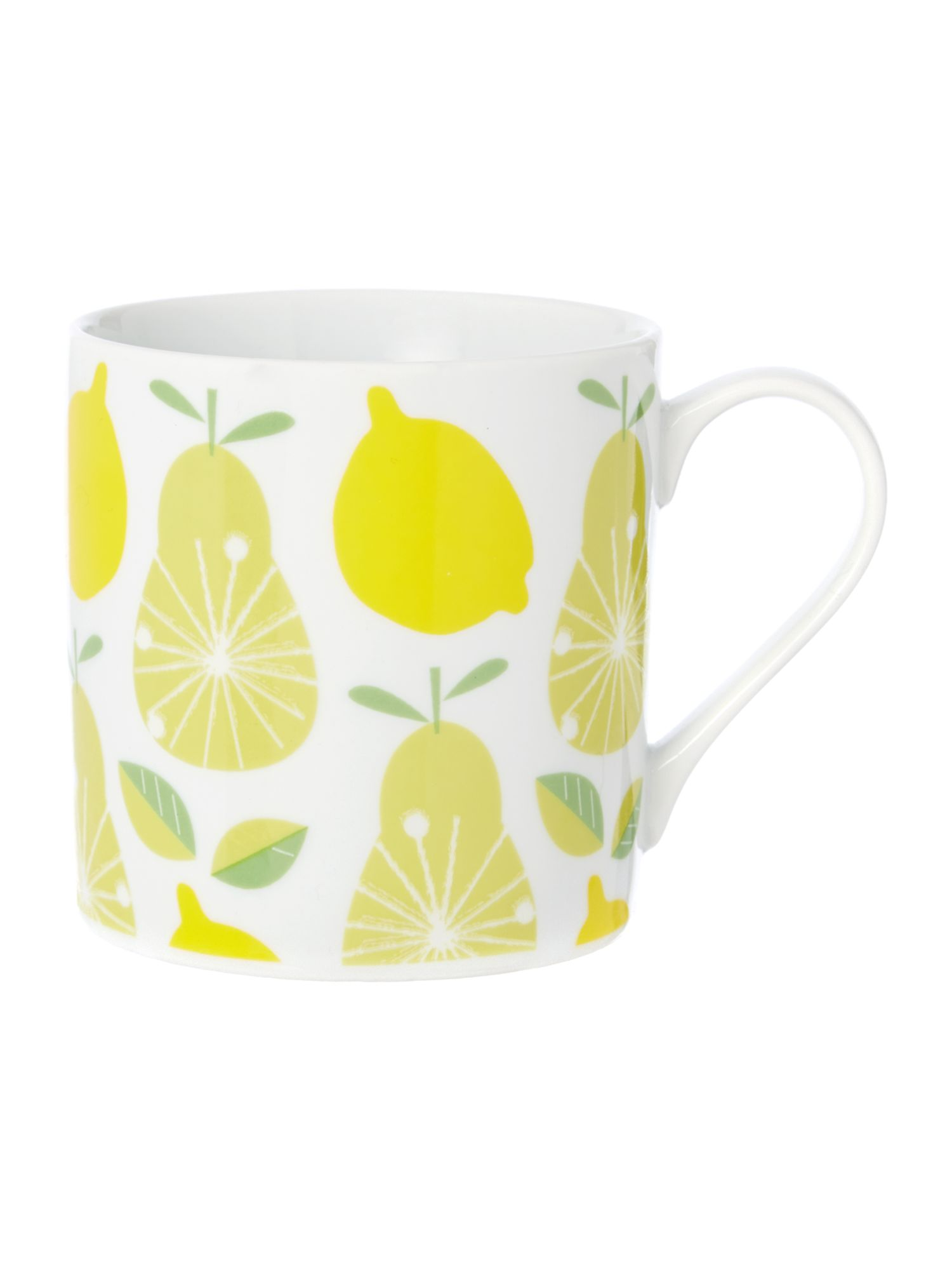Linea Michelle Mason lemon and pear mug