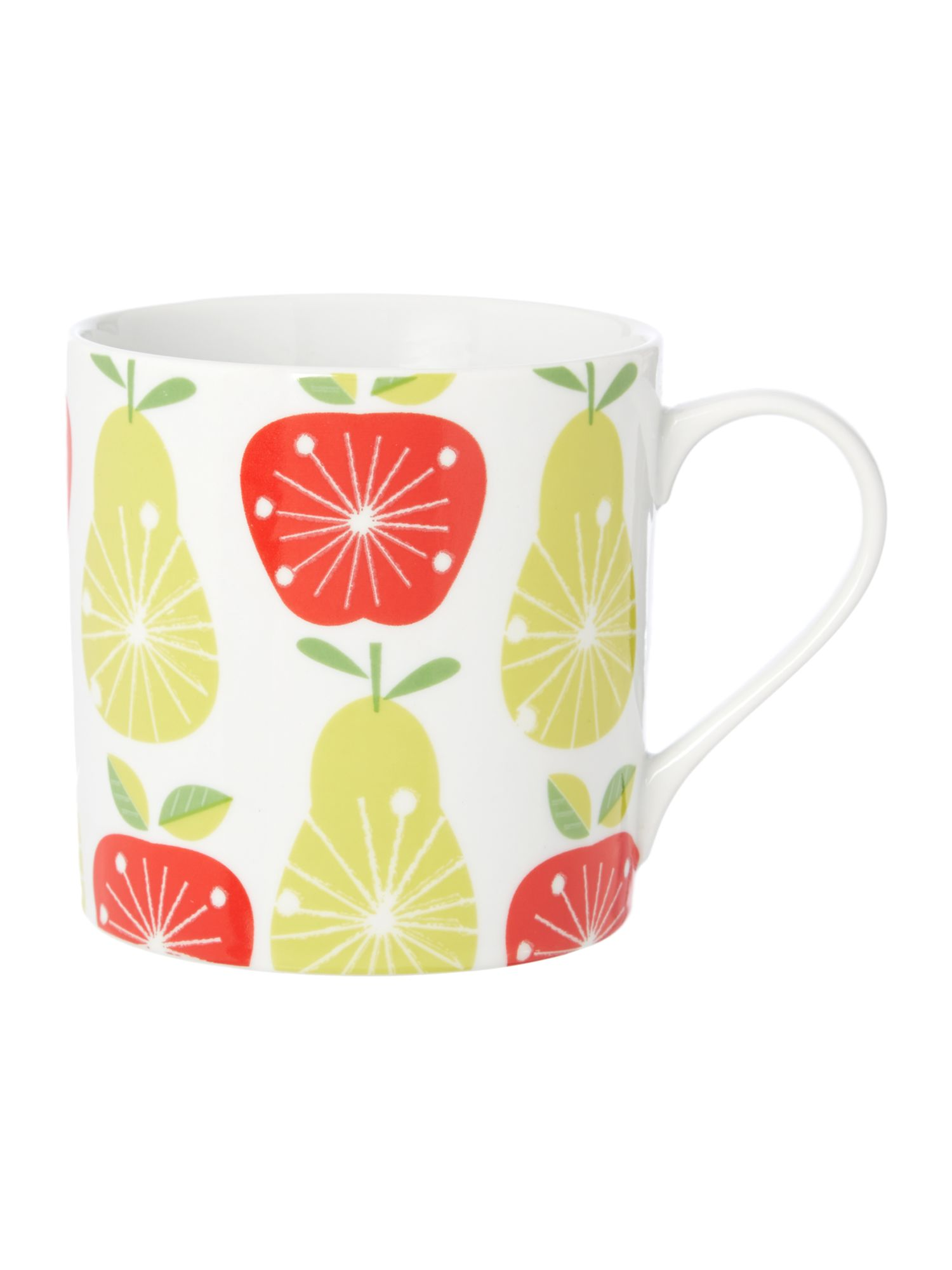 Linea Michelle Mason apple and pear mug