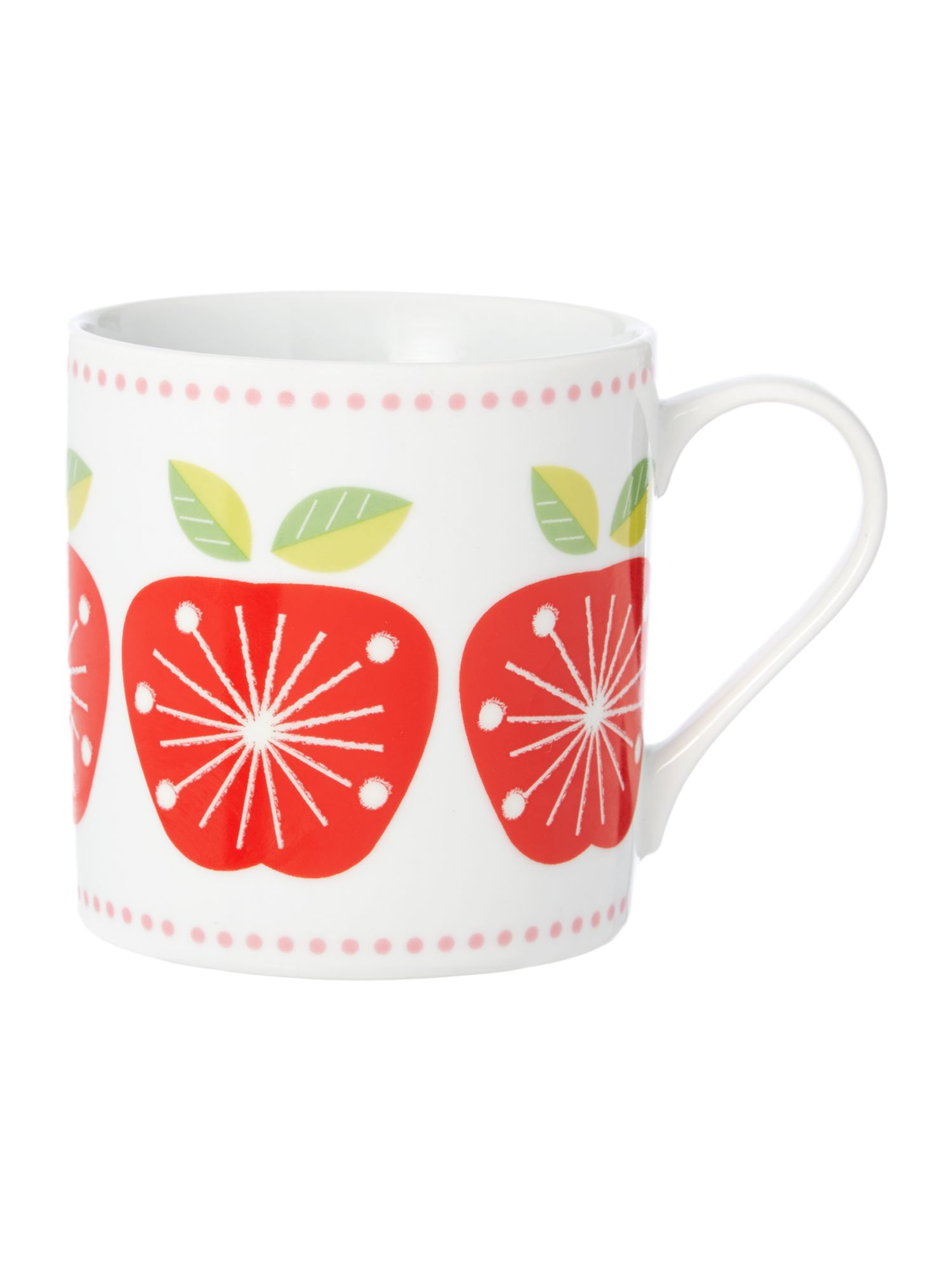 Linea Michelle Mason apple mug