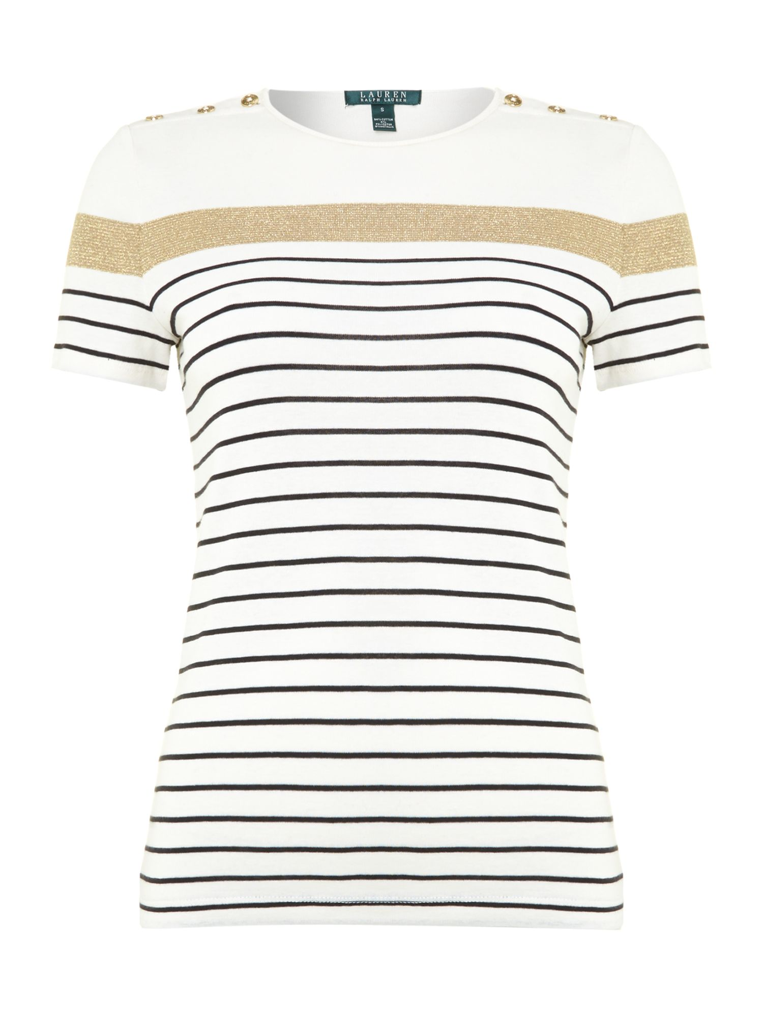 Short sleeve stripy top