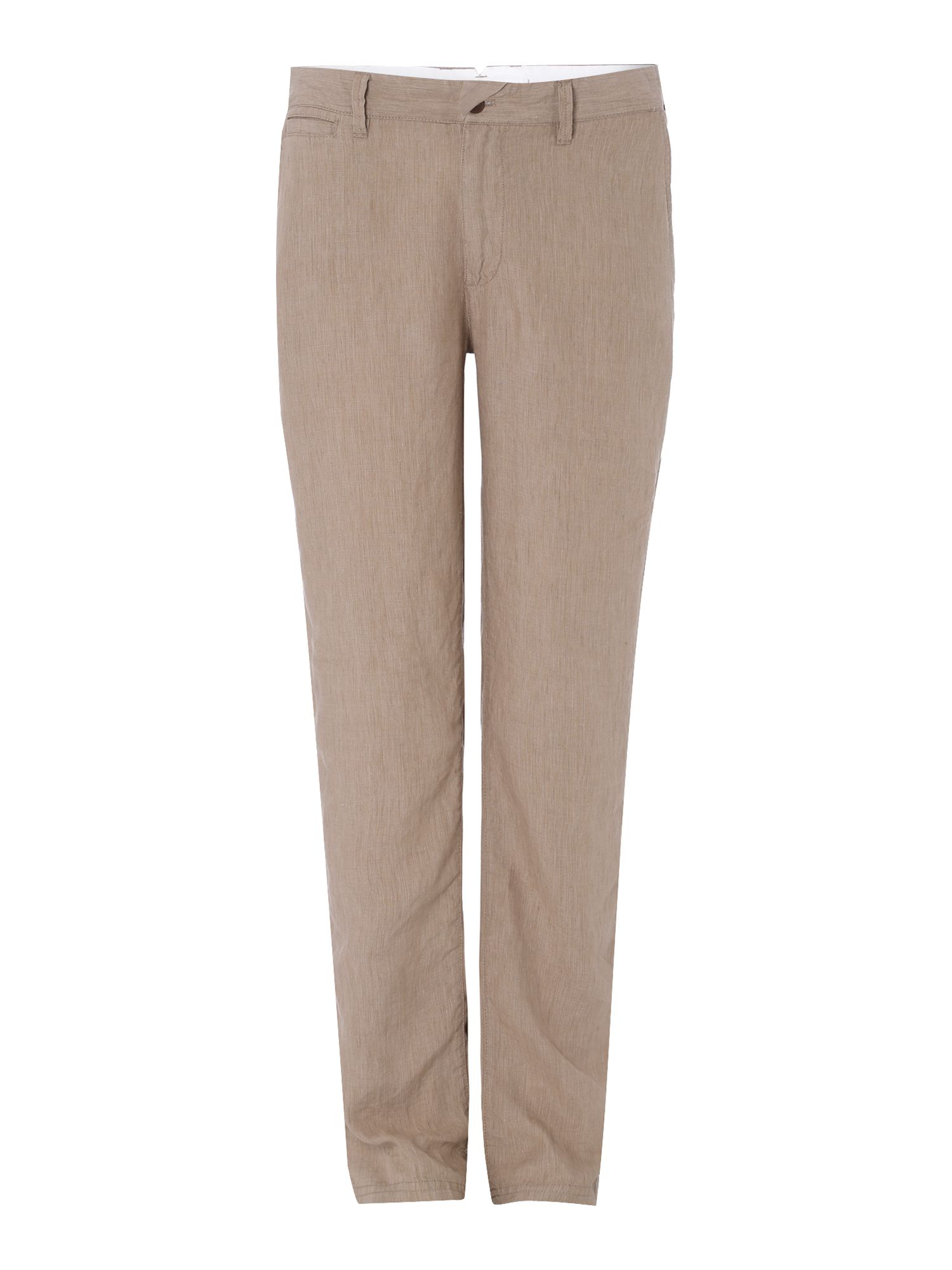 drew tailored linen trousers