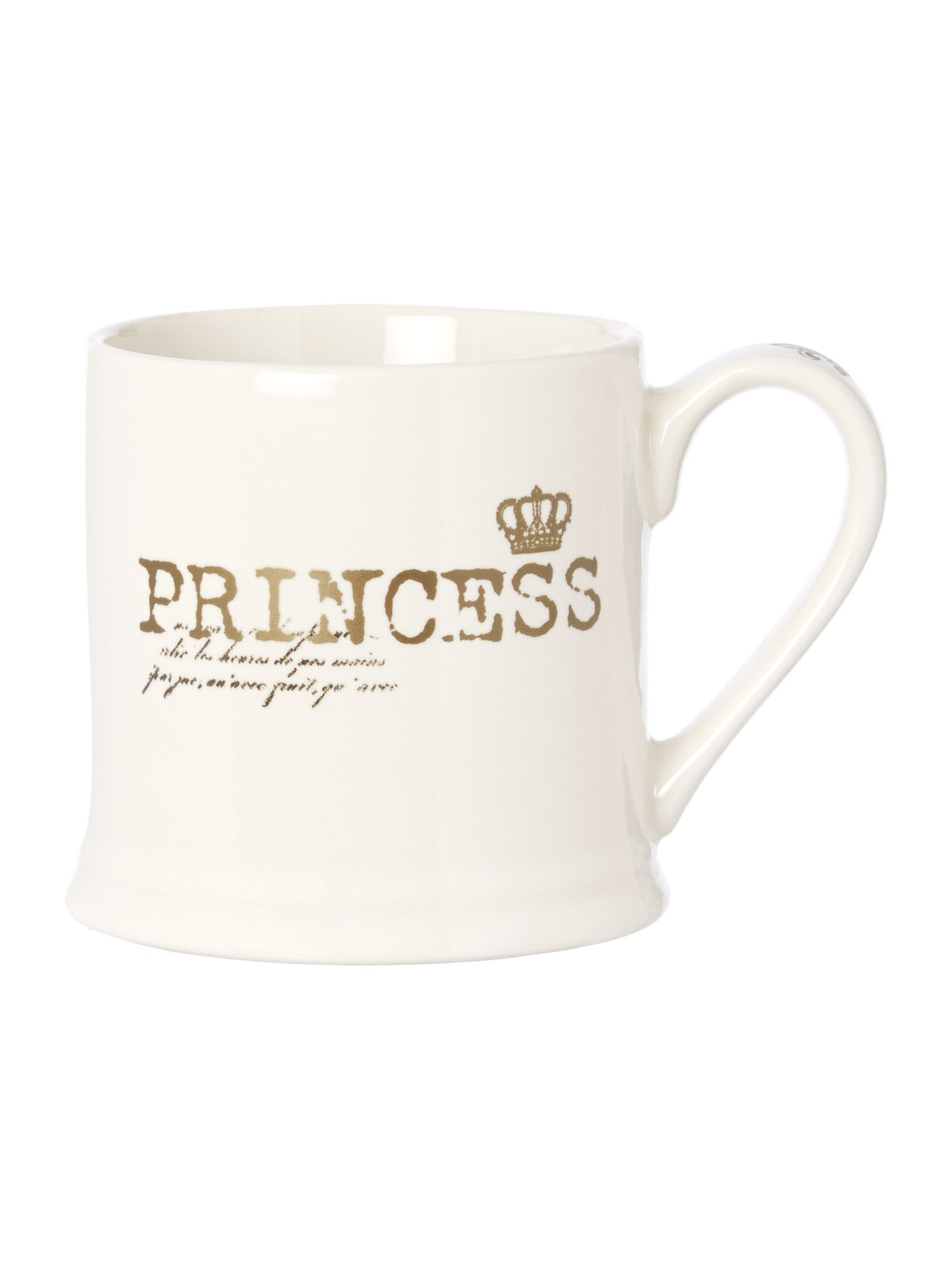 Shabby Chic Princess mug