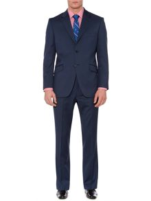 Howick Tailored Bridgeman Notch Twill Suit Jacket