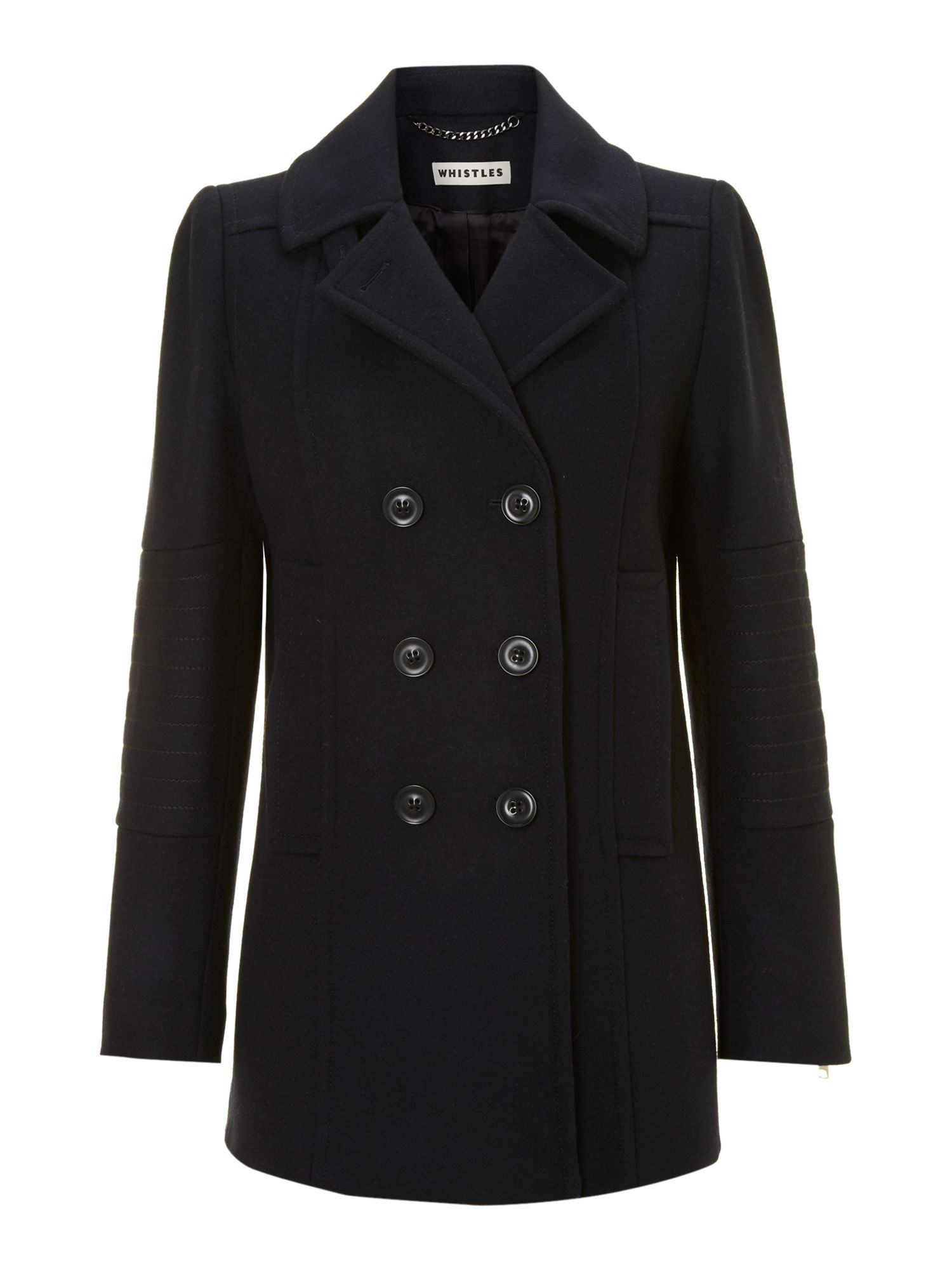 Carmel Military Pea Coat