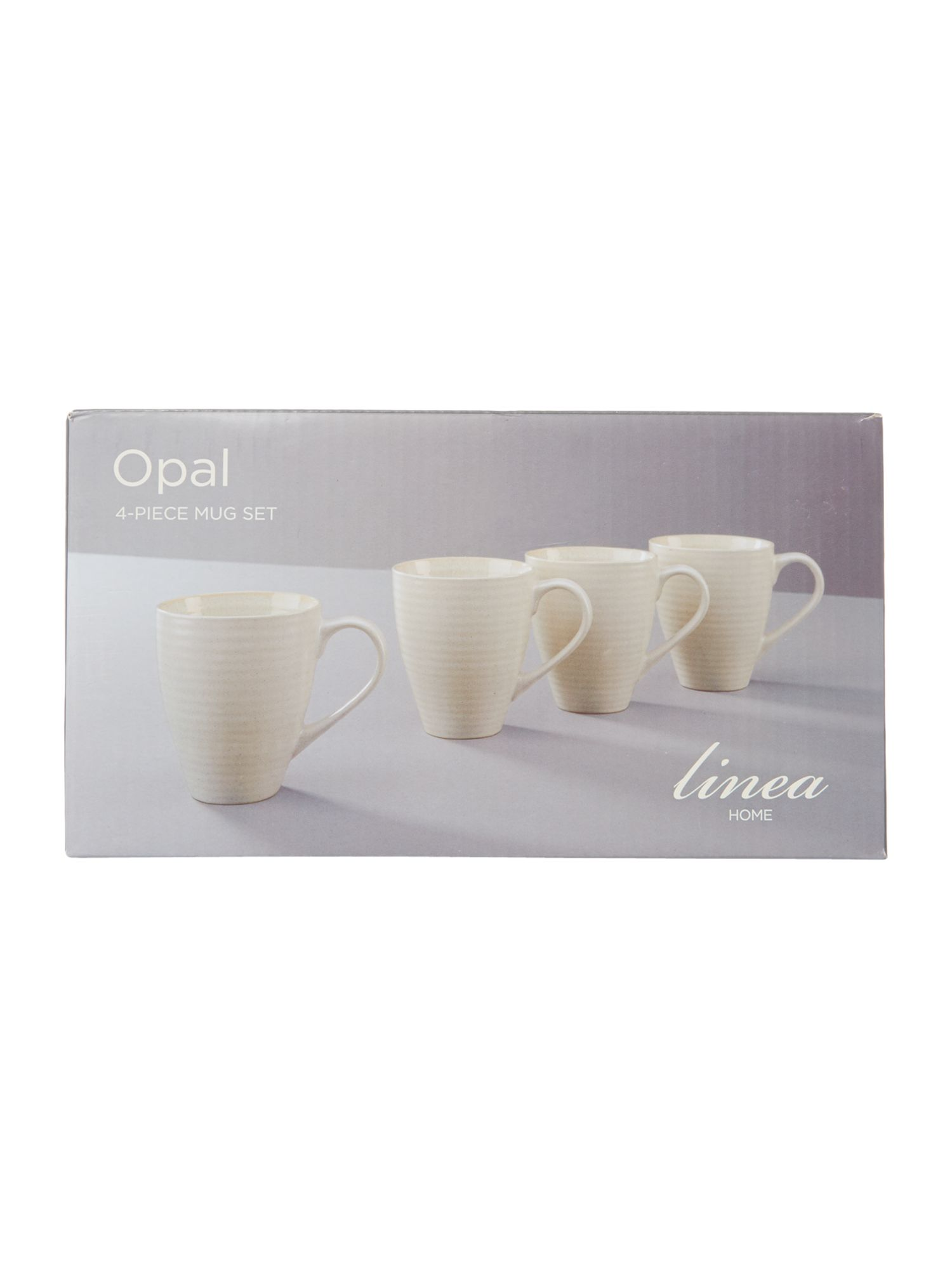 Linea Opal set of 4 mugs