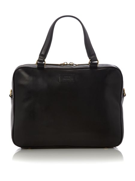 Lulu Guinness Black quilted lips bowling bag