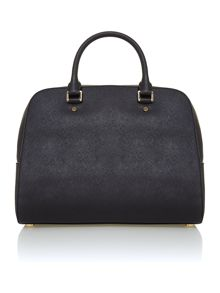 Jet set travel medium black dome bag