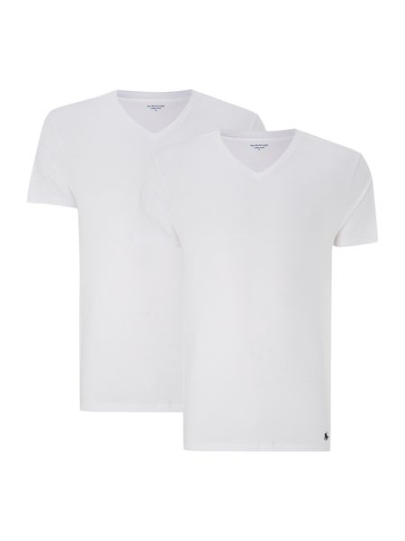Polo Ralph Lauren 2 pack classic v neck t-shirt