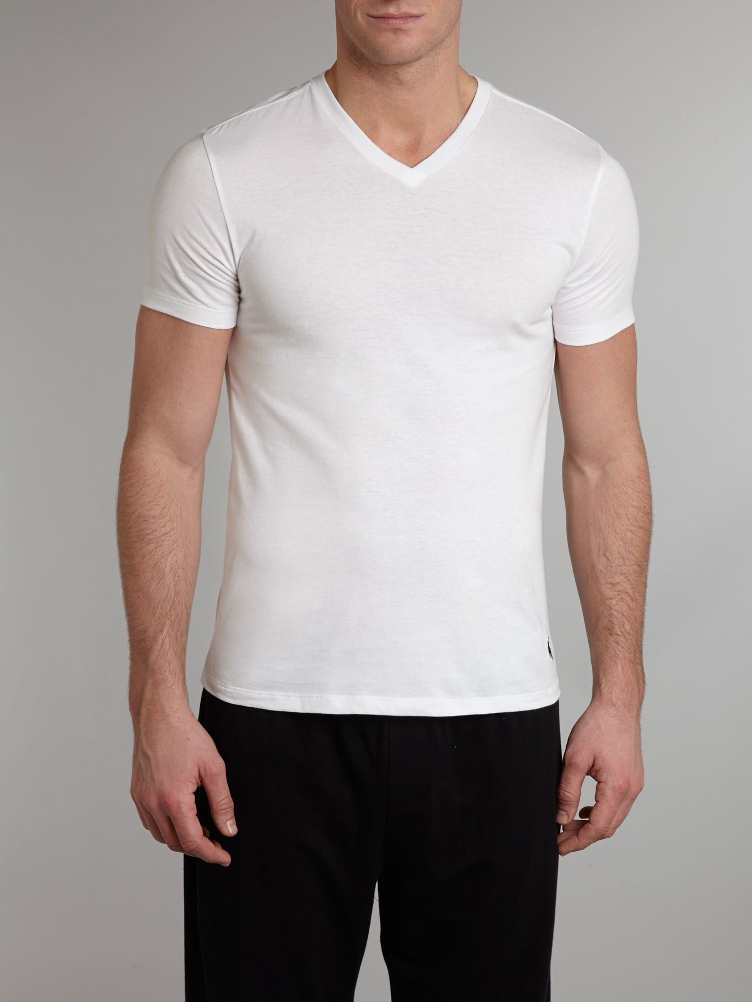 2 pack classic v neck t-shirt