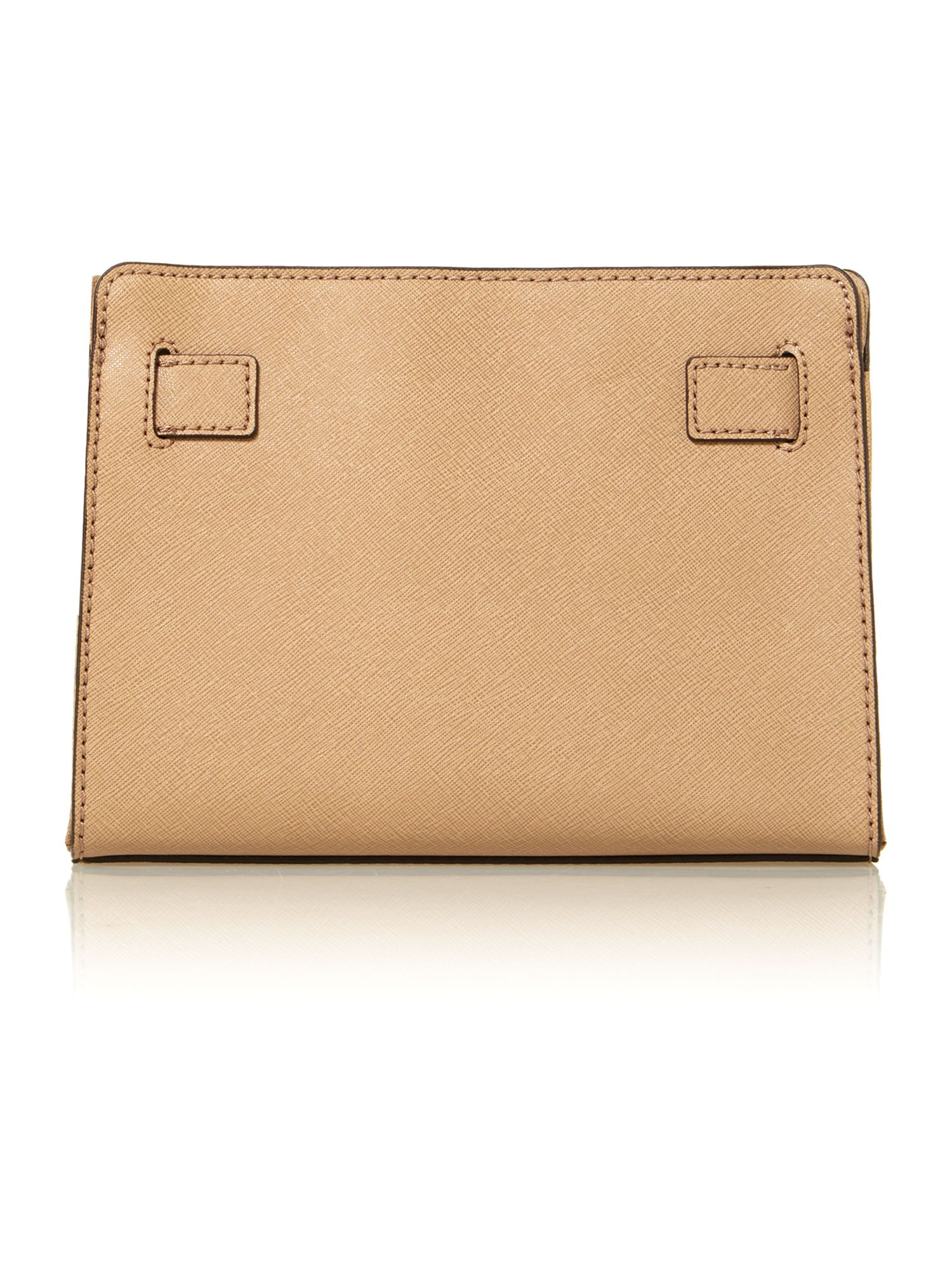 Hamilton small taupe shoulder bag