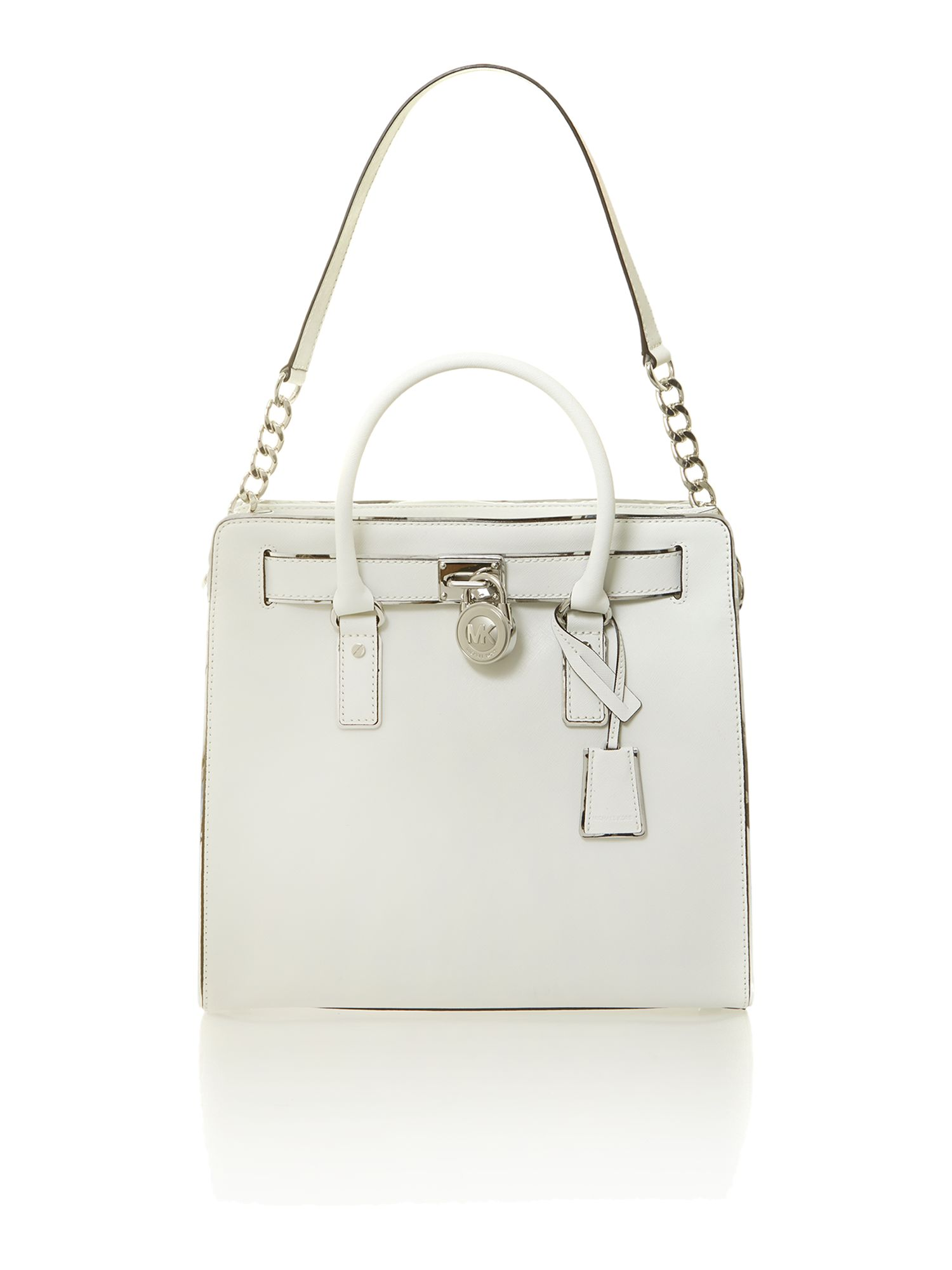 Hamilton large white tote bag